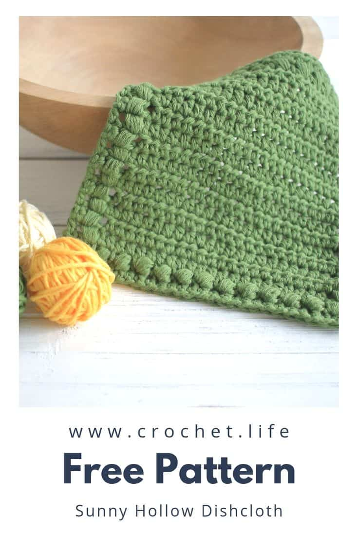 Free DIY Crochet Washcloth Pattern