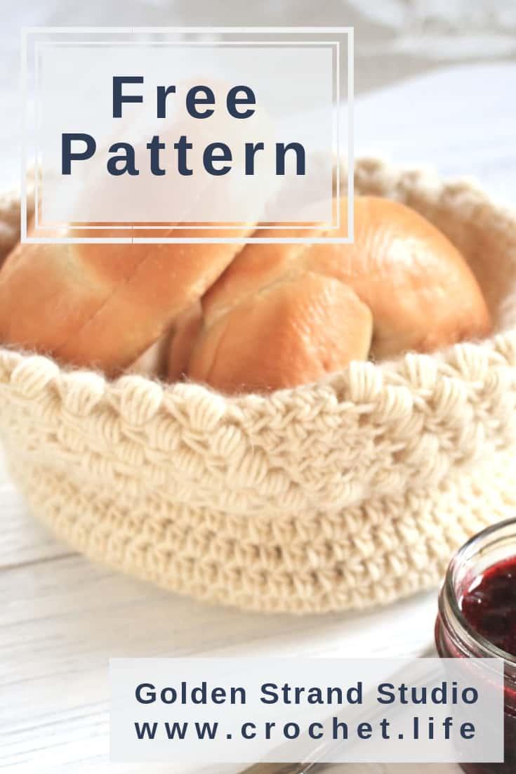 Crochet Basket Pattern - Great Storage Idea