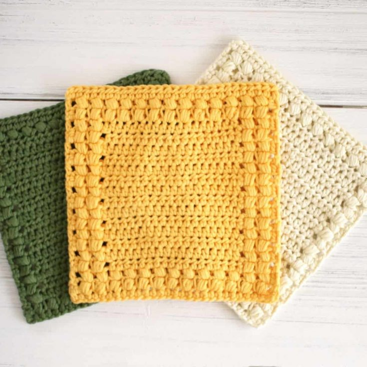 How to Make a Crochet Washcloth - Free Pattern