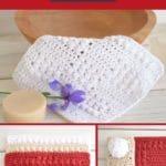 Dishcloth pattern collage