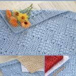 Magic cottage hand towel collage