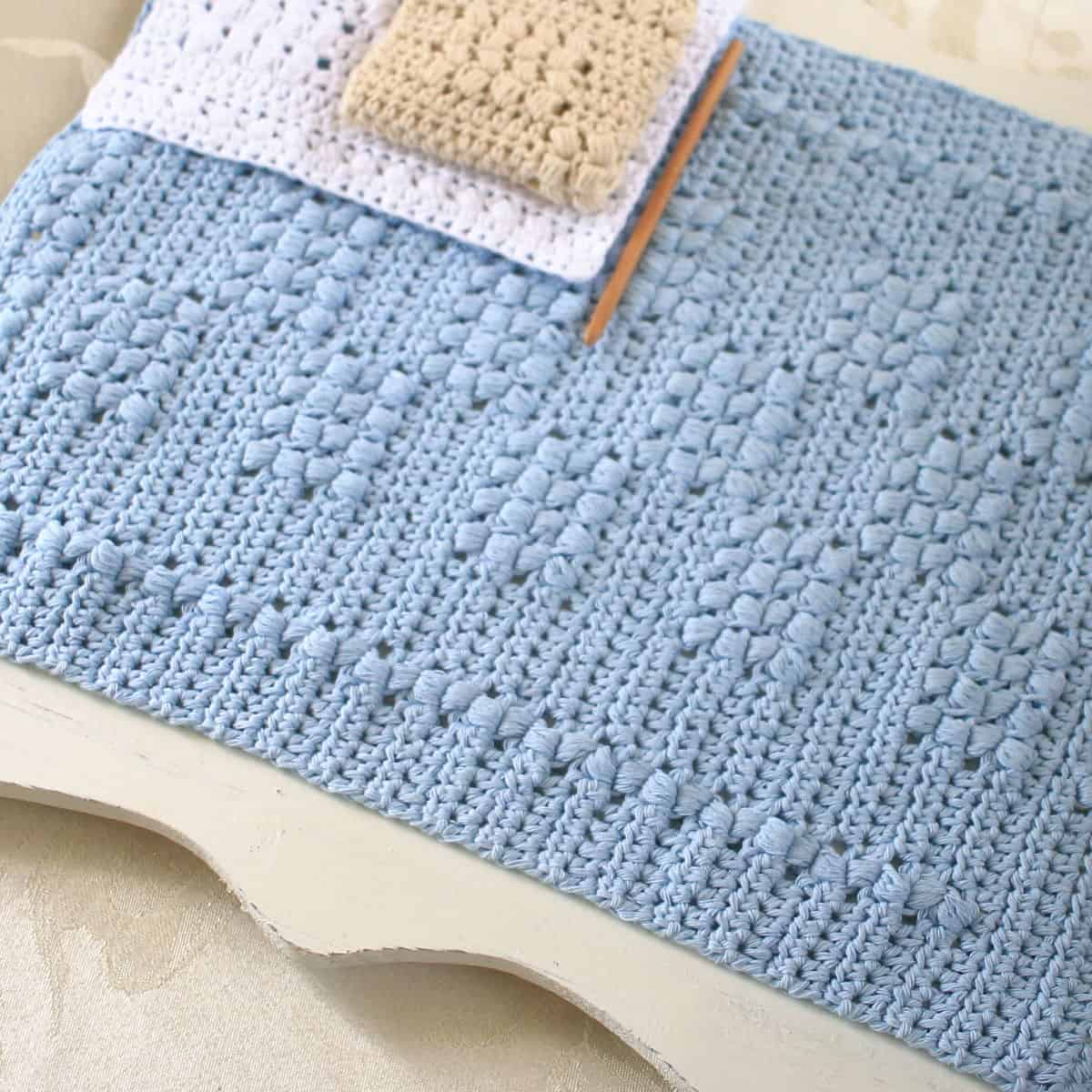 Cottage Magic Hand Towel Crochet Pattern