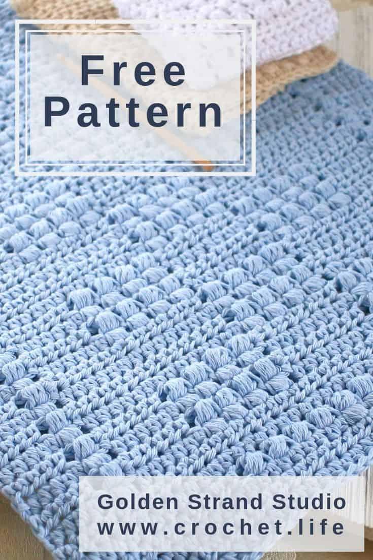 Crochet Towel Pattern Perfect Kitchen Gift