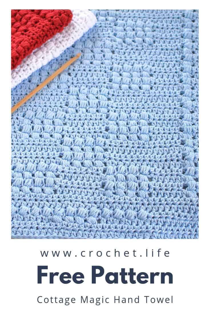 Free Pattern Crochet Kitchen Towel