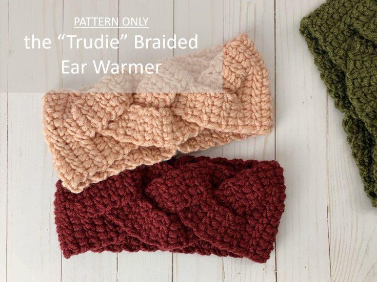 Trudie Braided Ear Warmer Pattern
