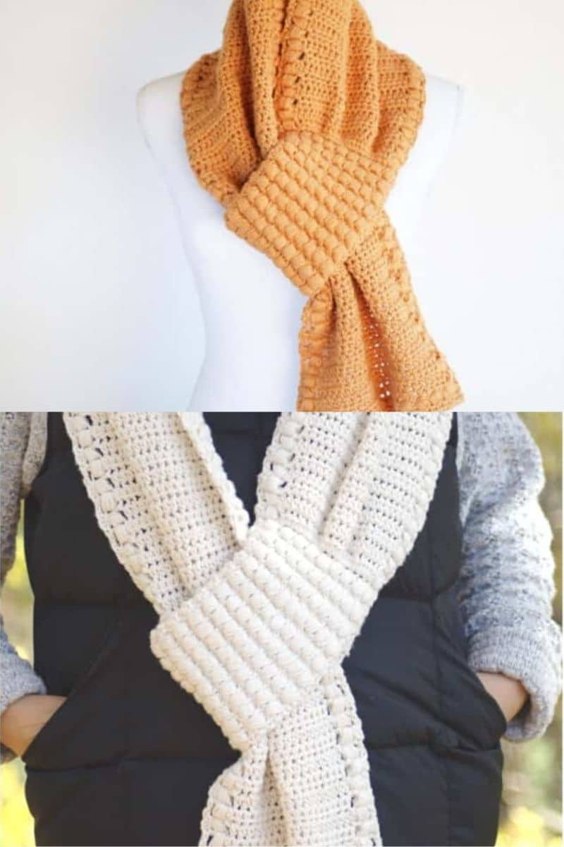 Orange and white cowls