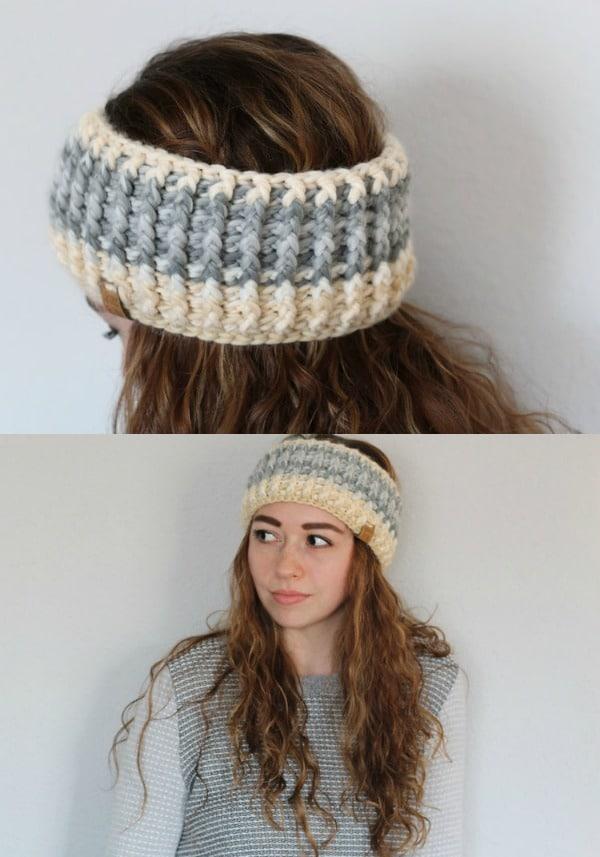 Ember Headband Crochet Pattern