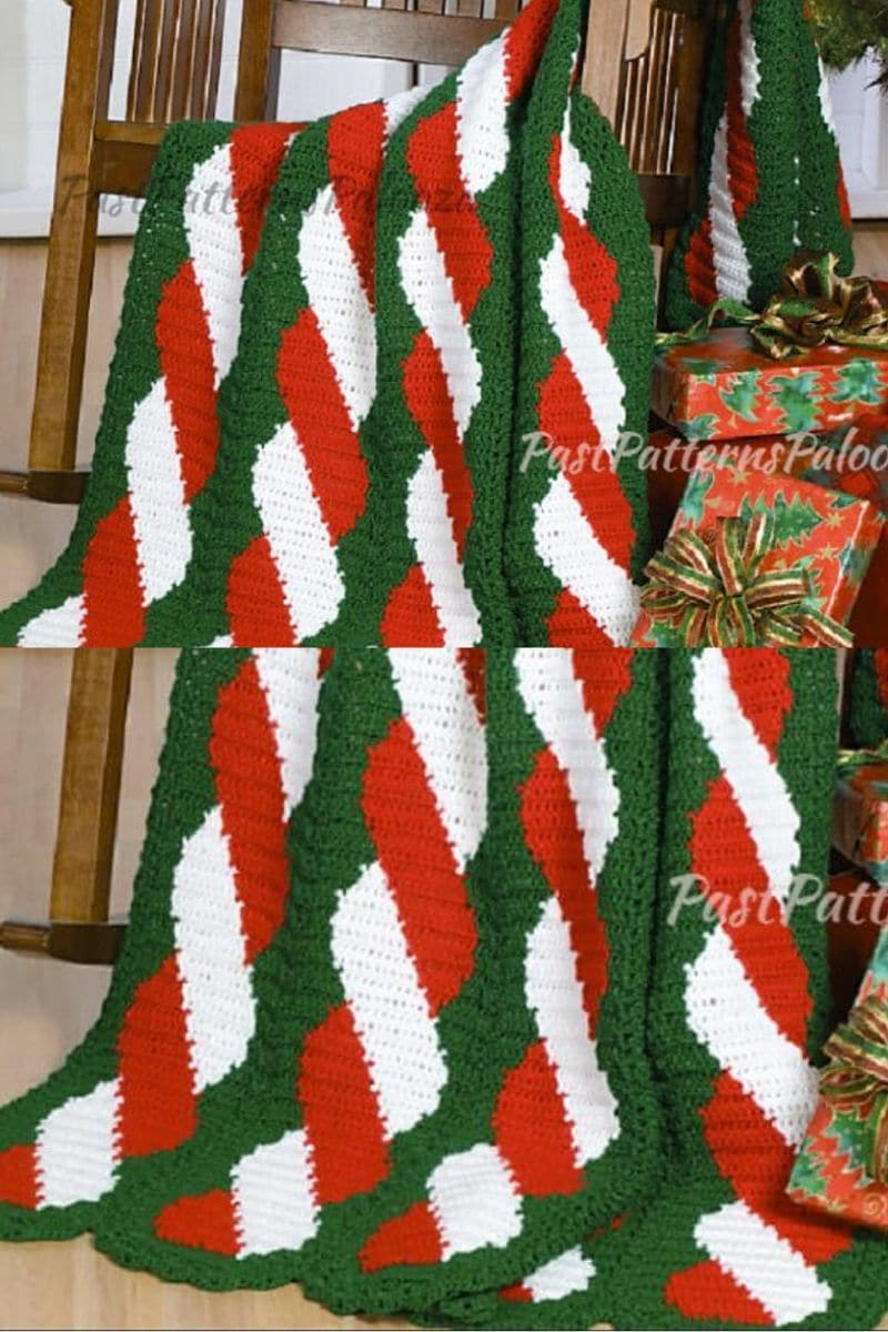 Christmas color blanket