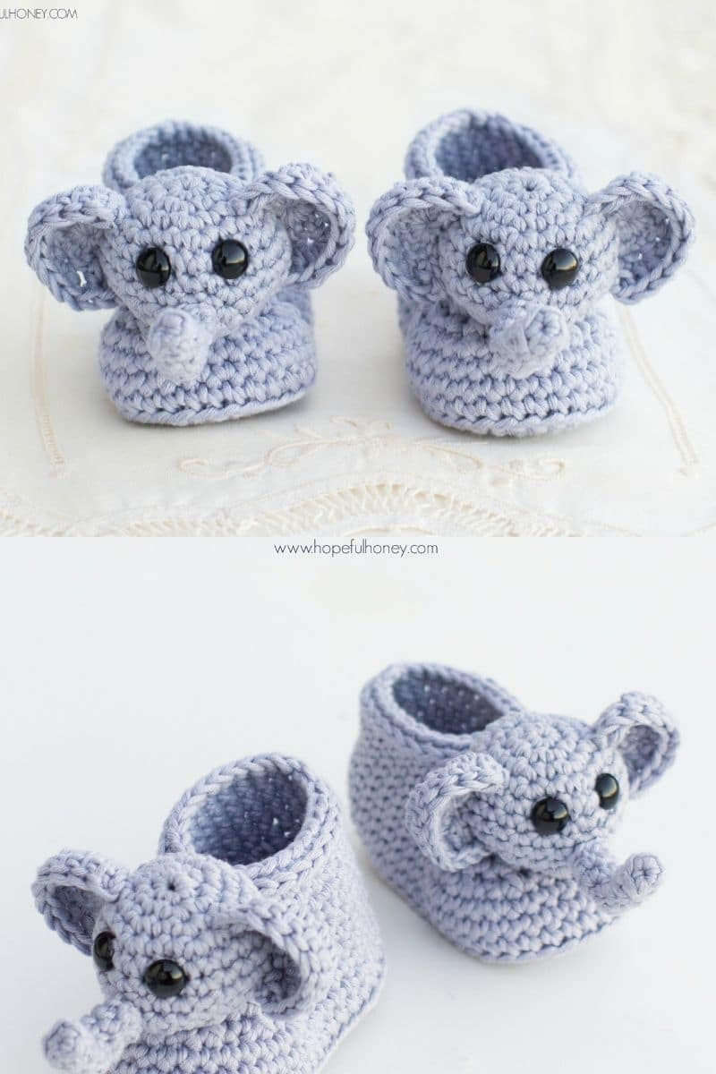 Baby Elephant Hat and Diaper Cover Pattern ... Instant Download ... | 1200x800