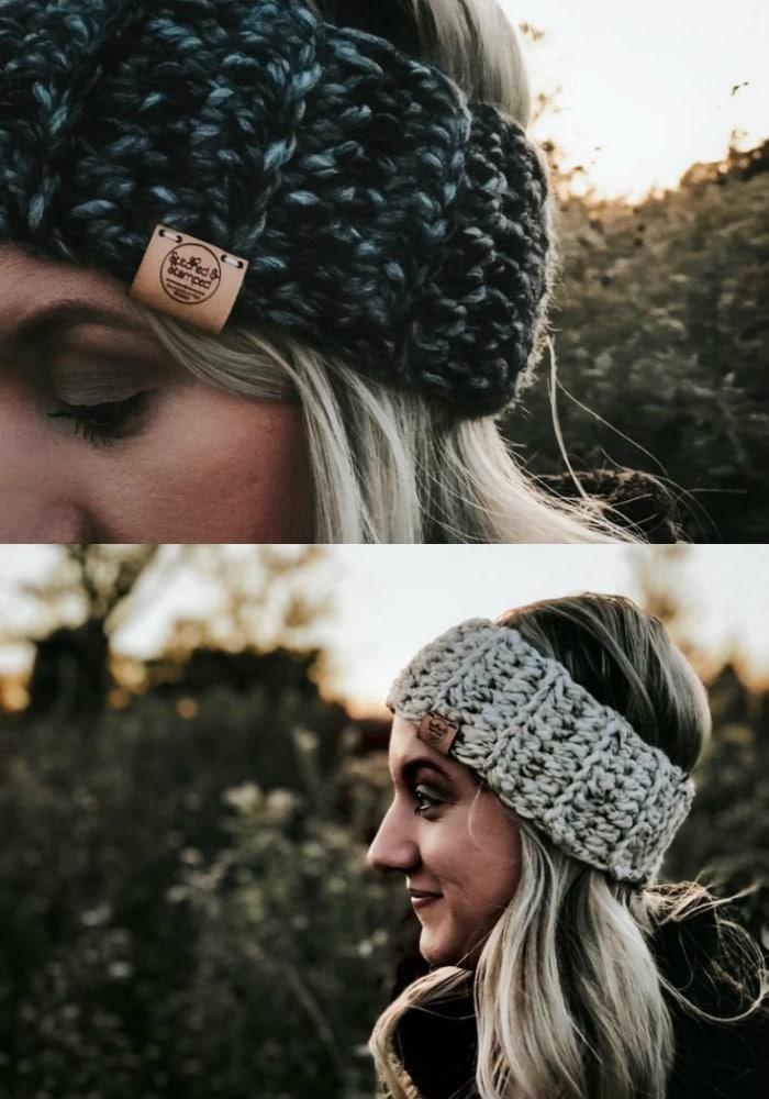 Beginner One Skein Crochet Headband