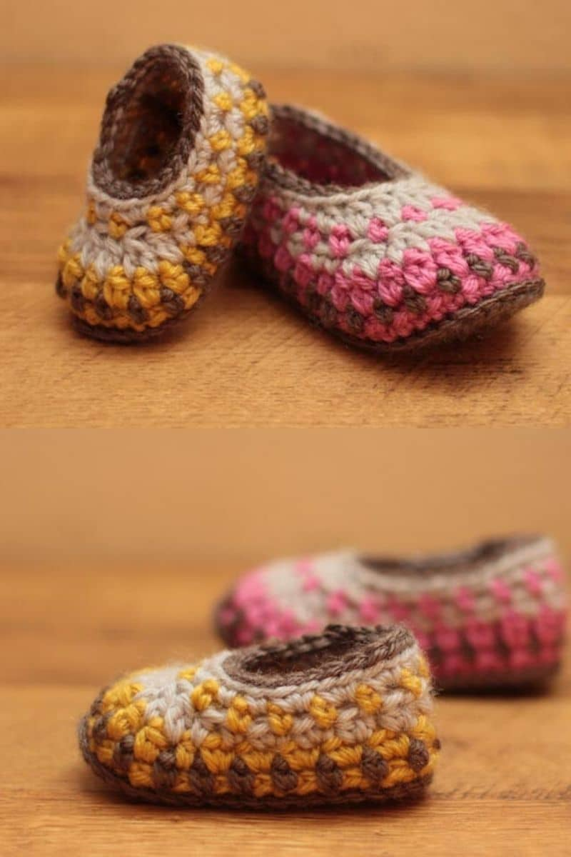 Colorful Galilee booties