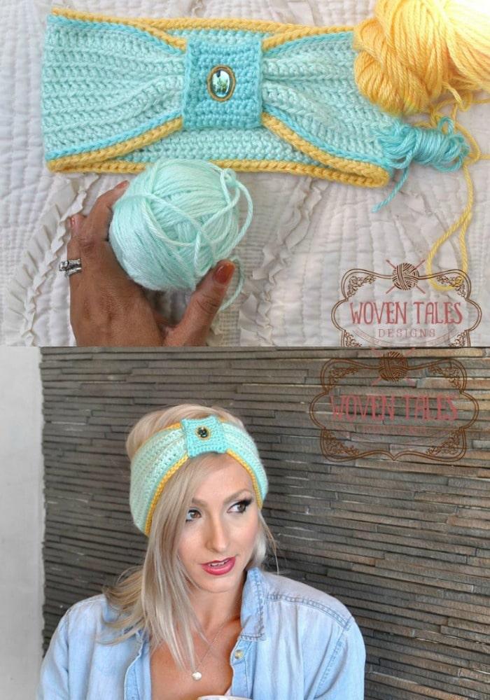 Princess Jasmine Inspired Headband