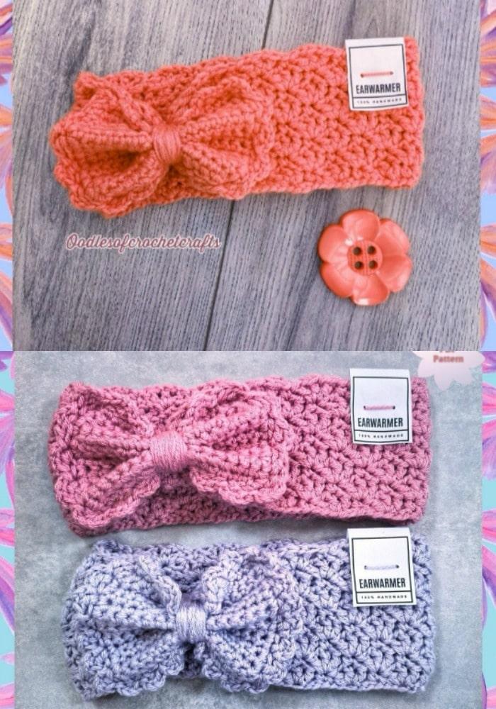 Felicity Bow Headband Crochet Pattern