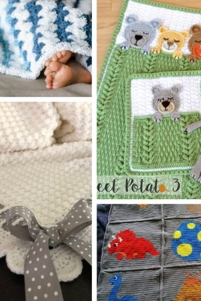 Crochet Baby Blanket Patterns FB