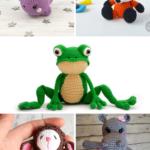 Amigurumi Animals Pattern Collage