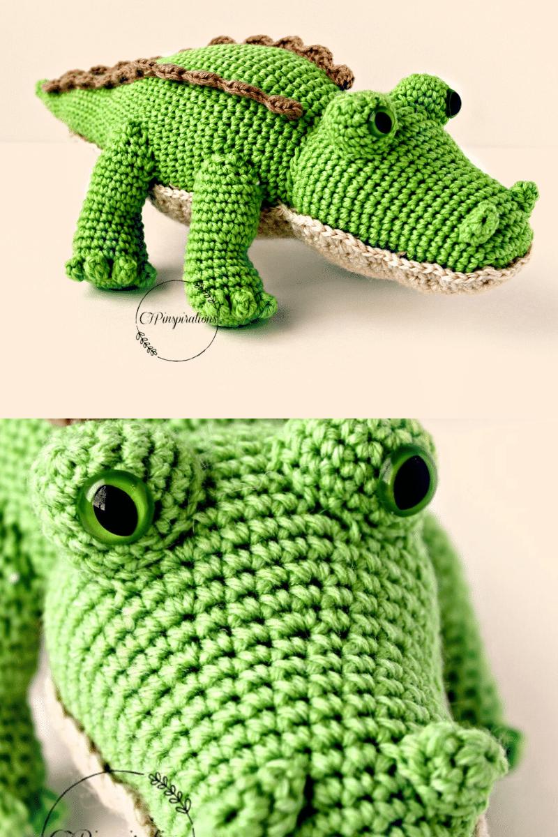 Crochet Crocodile