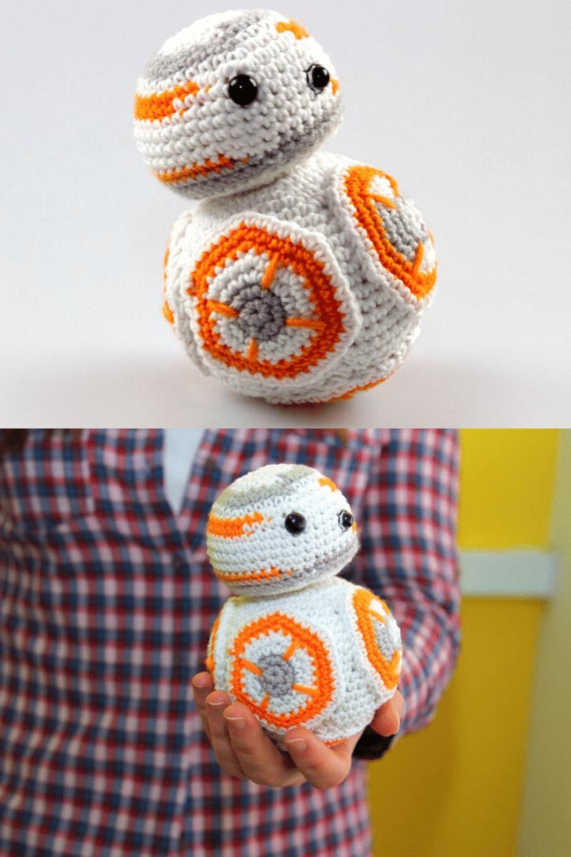 Crochet BB8