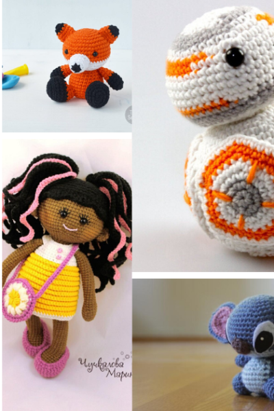 Amigurumi Pattern Collage FB Image