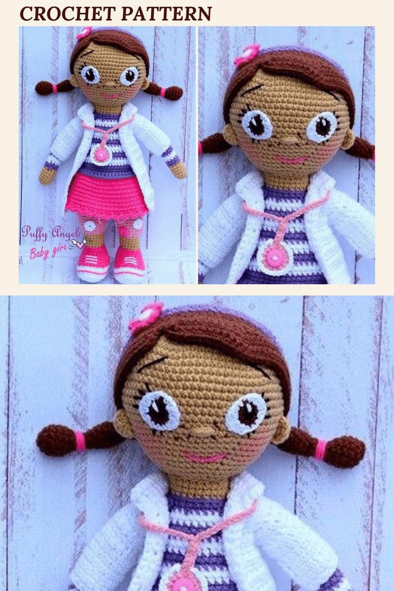 Doc McStuffins crochet