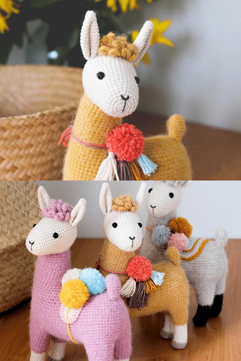 Crochet llamas