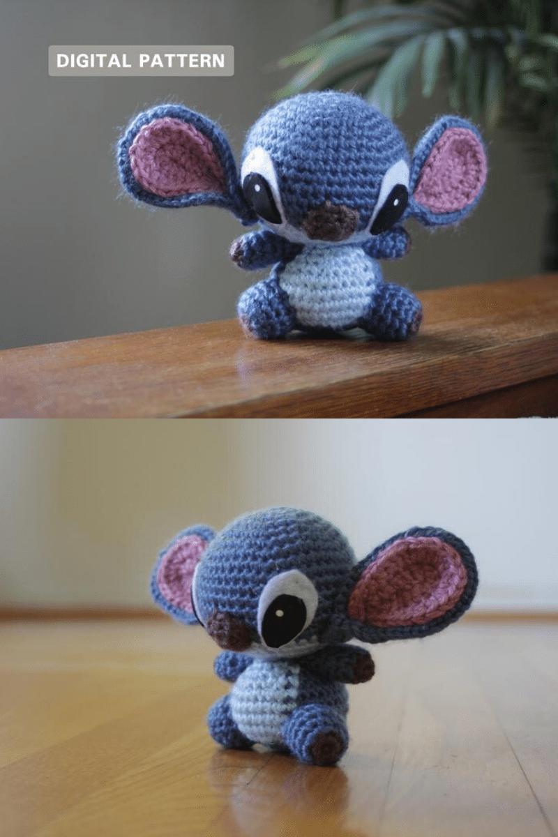 Crochet disney stitch