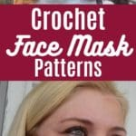 Crochet Face mask patterns collage