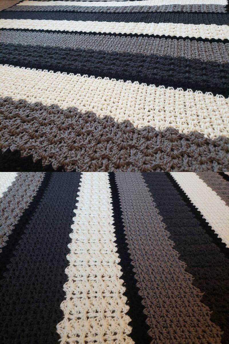 Crochet lace pattern balnket