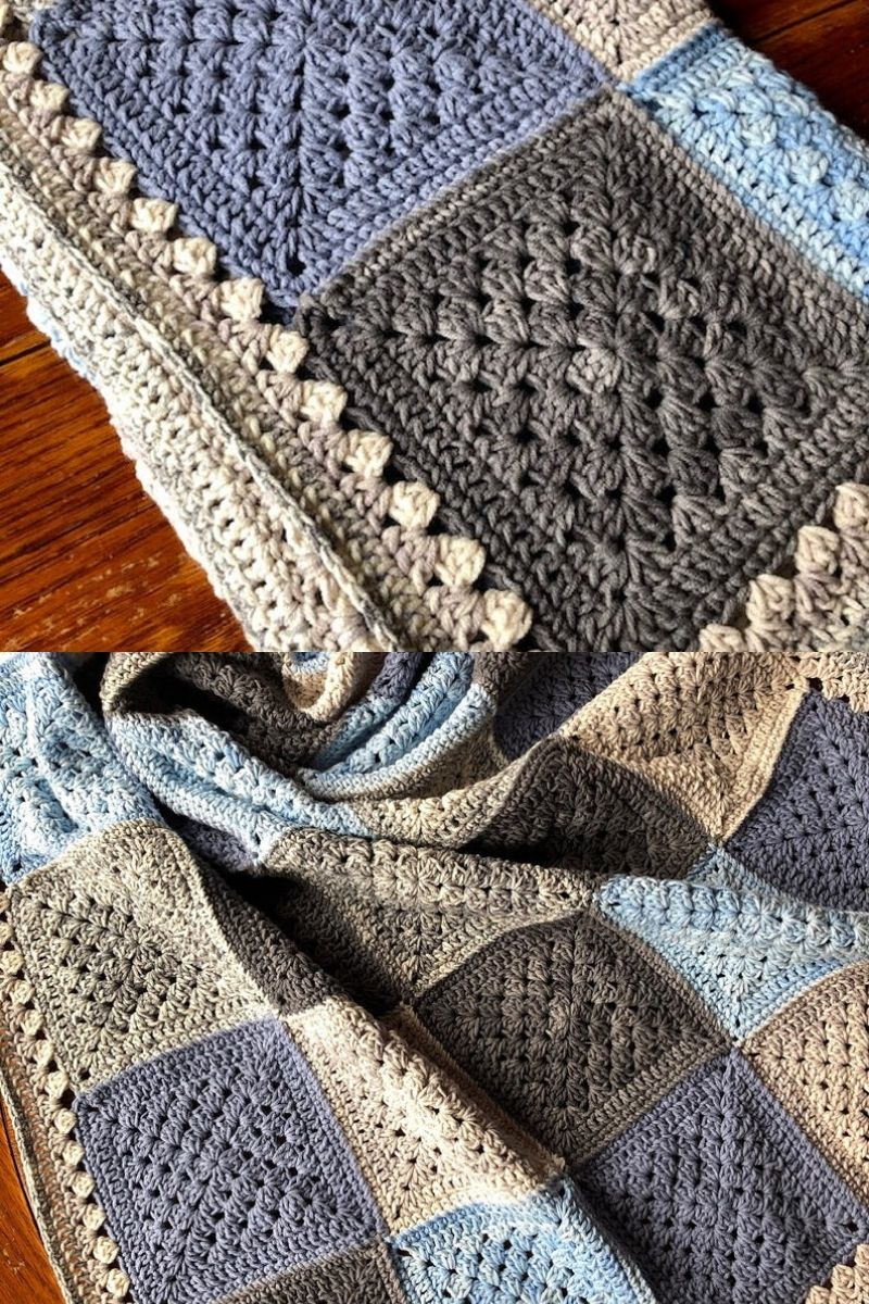 Patchwork crochet pattern