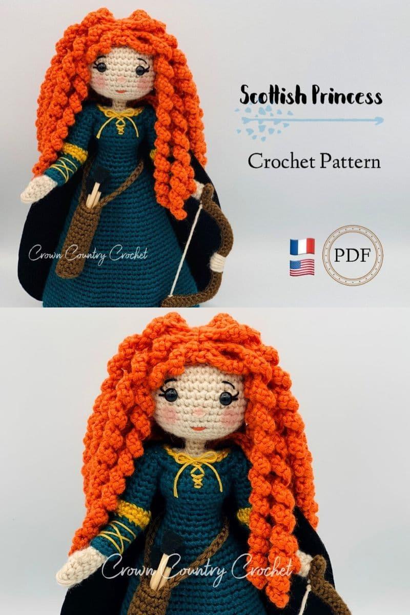 Crochet Merida Brave
