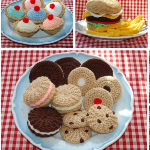 Amigurumi food