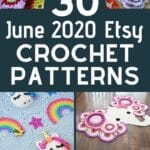 June etsy pattern collage