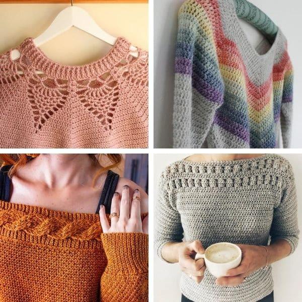 Pattern Crochet sweaters.