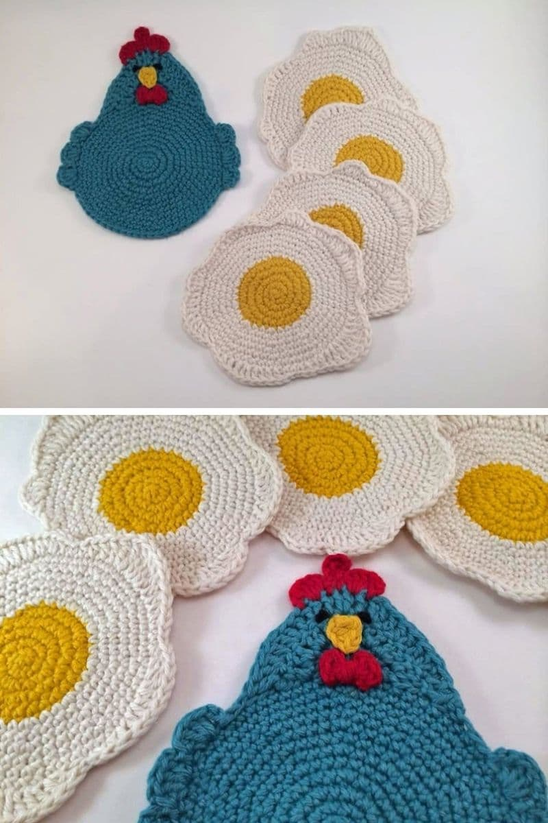 Egg coasters