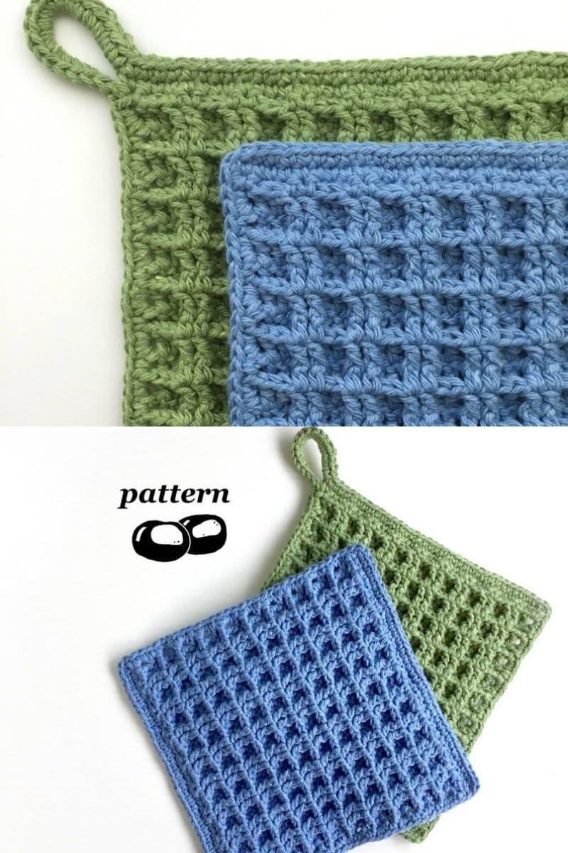 30 Easy Crochet Potholder Hot Pad Patterns Crochet Life