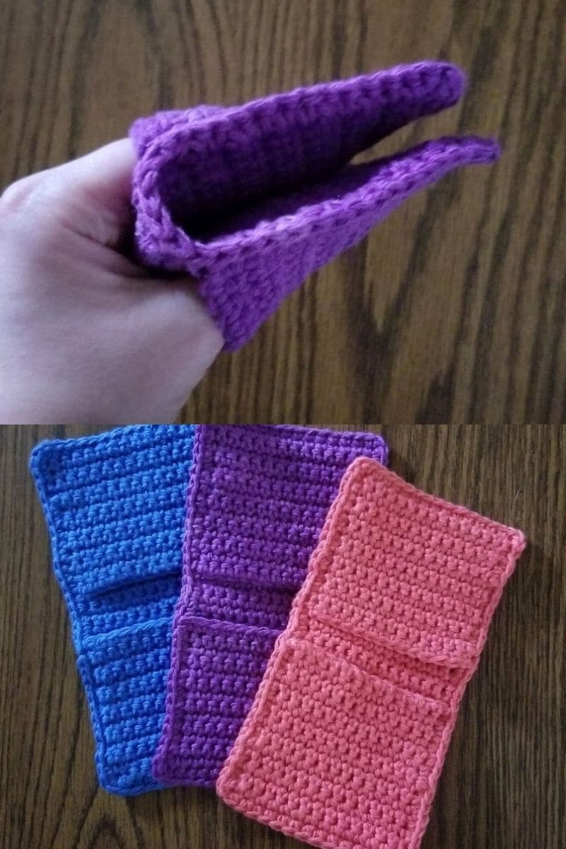 Colorful potholder mitten