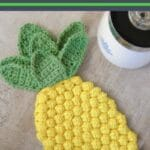 Crochet potholder patterns collage