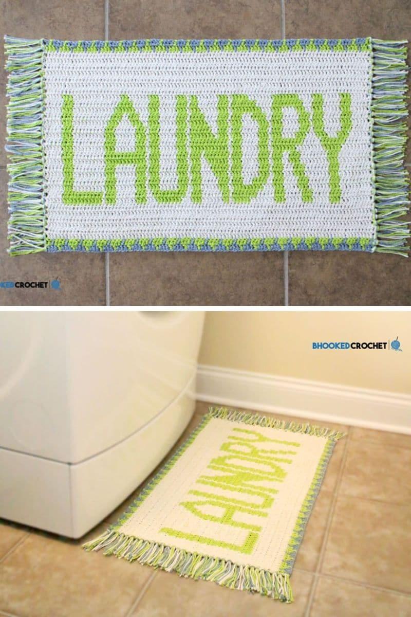 Laundry rug