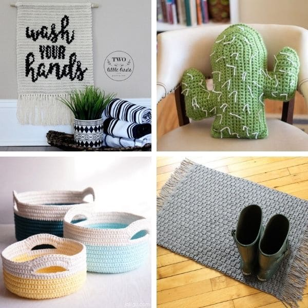 30 Stunning Crochet Home Decor Patterns Crochet Life
