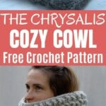 Chrysalis cowl collage