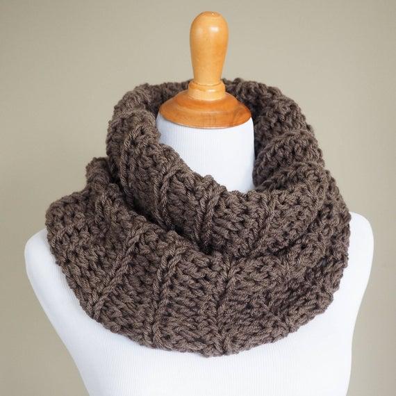 CROCHET PATTERN Crochet Cowl Pattern Crochet Infinity | Etsy