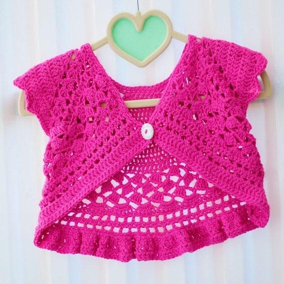 Crochet pattern baby 6m to girls 10y DORALY Crochet | Etsy