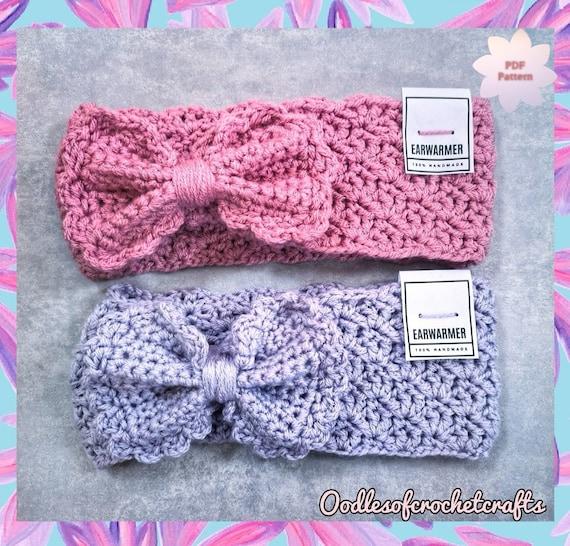 CROCHET PATTERN Felicity Headband PDF Crochet Pattern with   Etsy