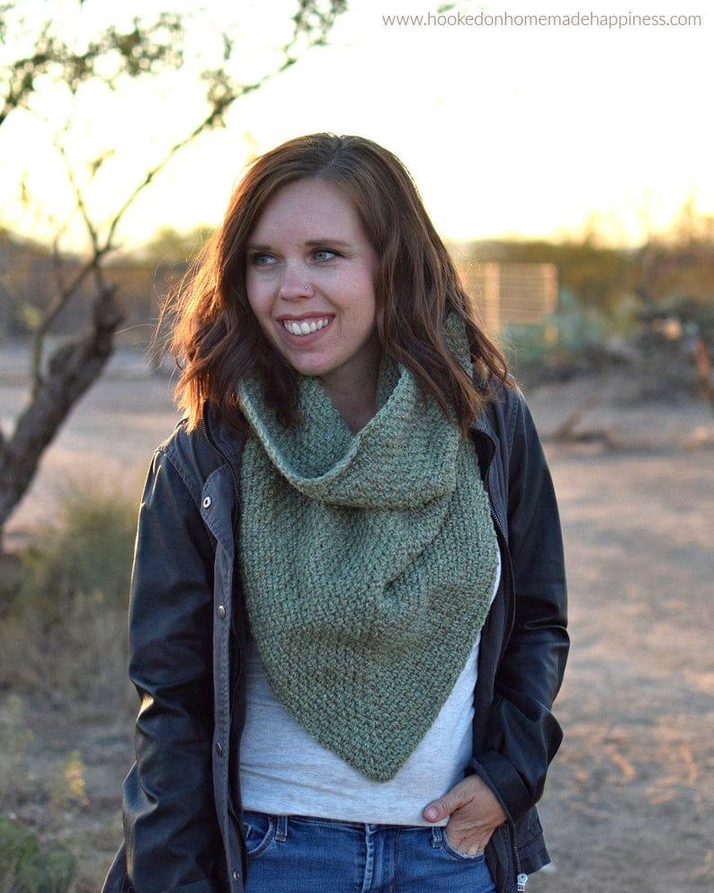 Moss Boss Cowl Crochet Pattern | Etsy