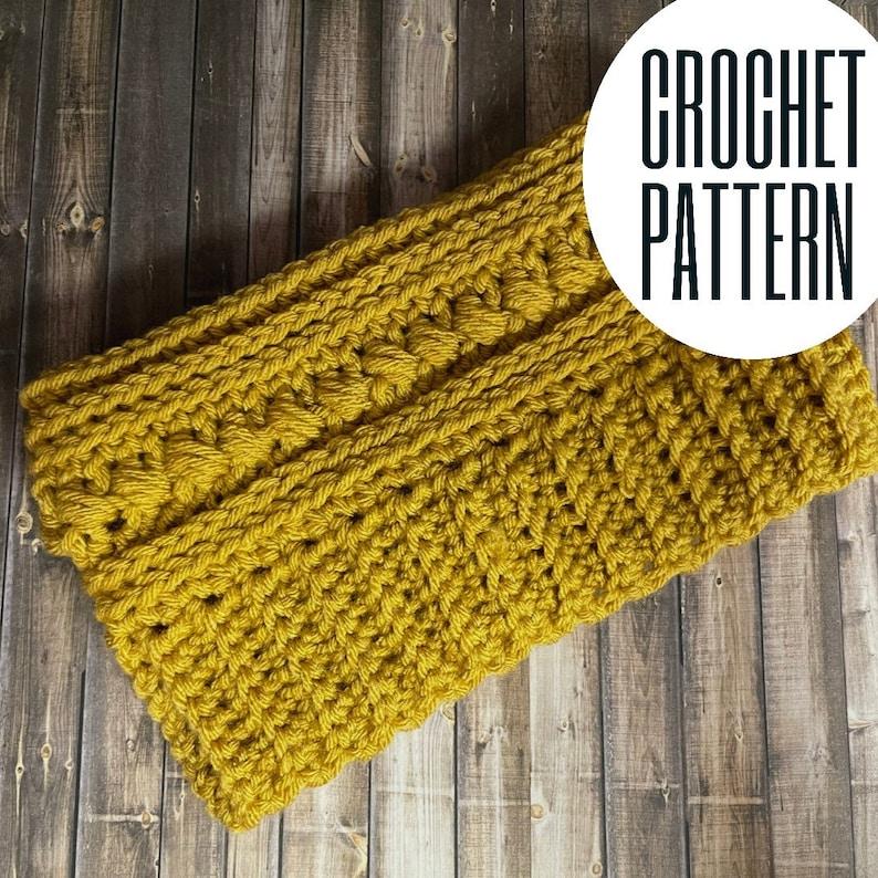 The Betty Headband Crochet Headband Pattern Crochet Pattern   Etsy