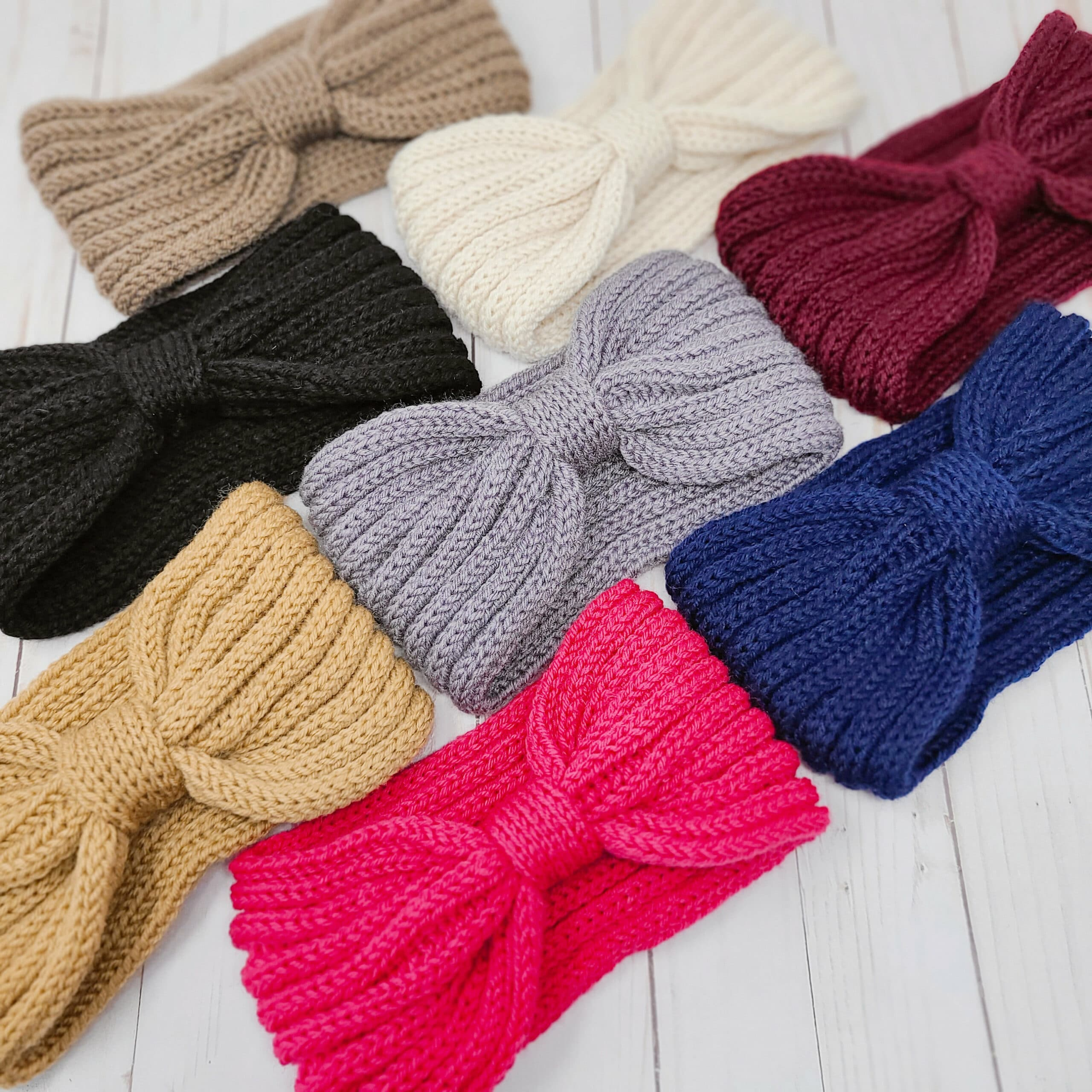 Knitted Headband Ear Warmer / Hairband Headwrap Women / Winter   Etsy