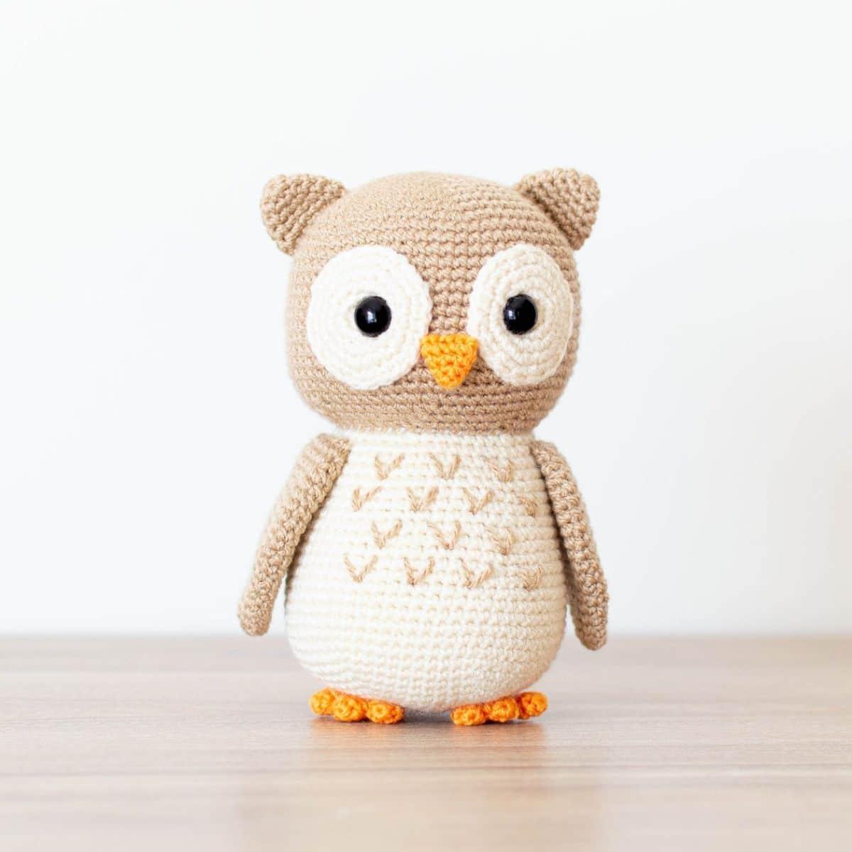 Aldric The Lovely Owl - PDF Amigurumi Crochet Pattern