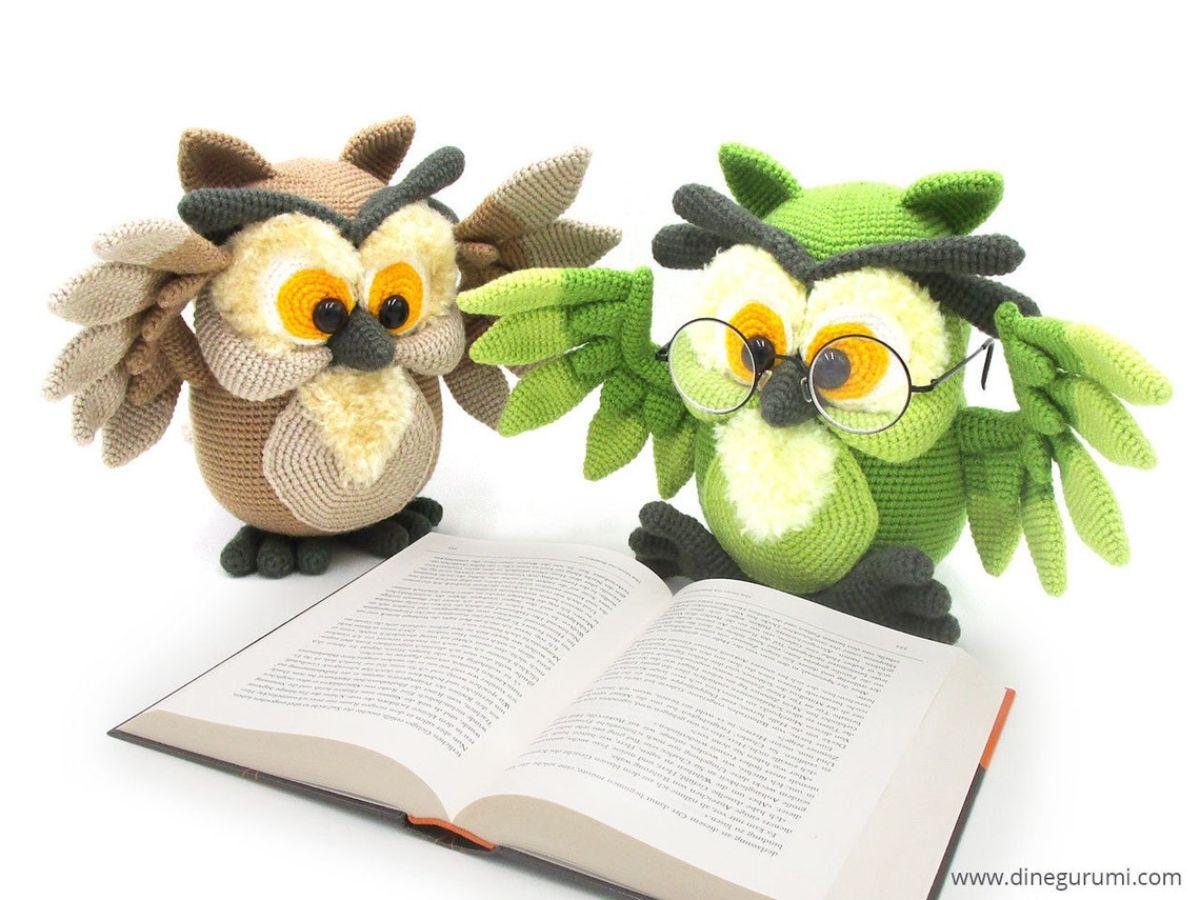 Amigurumi Owl - Crochet Pattern