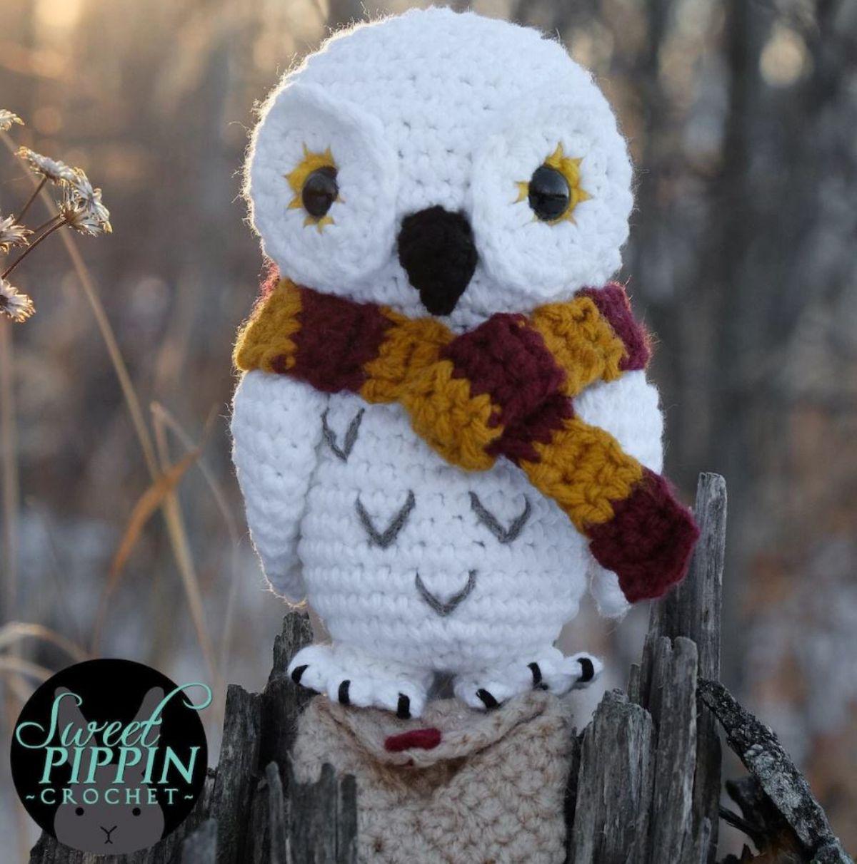 Eira Owl w/Envelope - PDF Crochet Pattern
