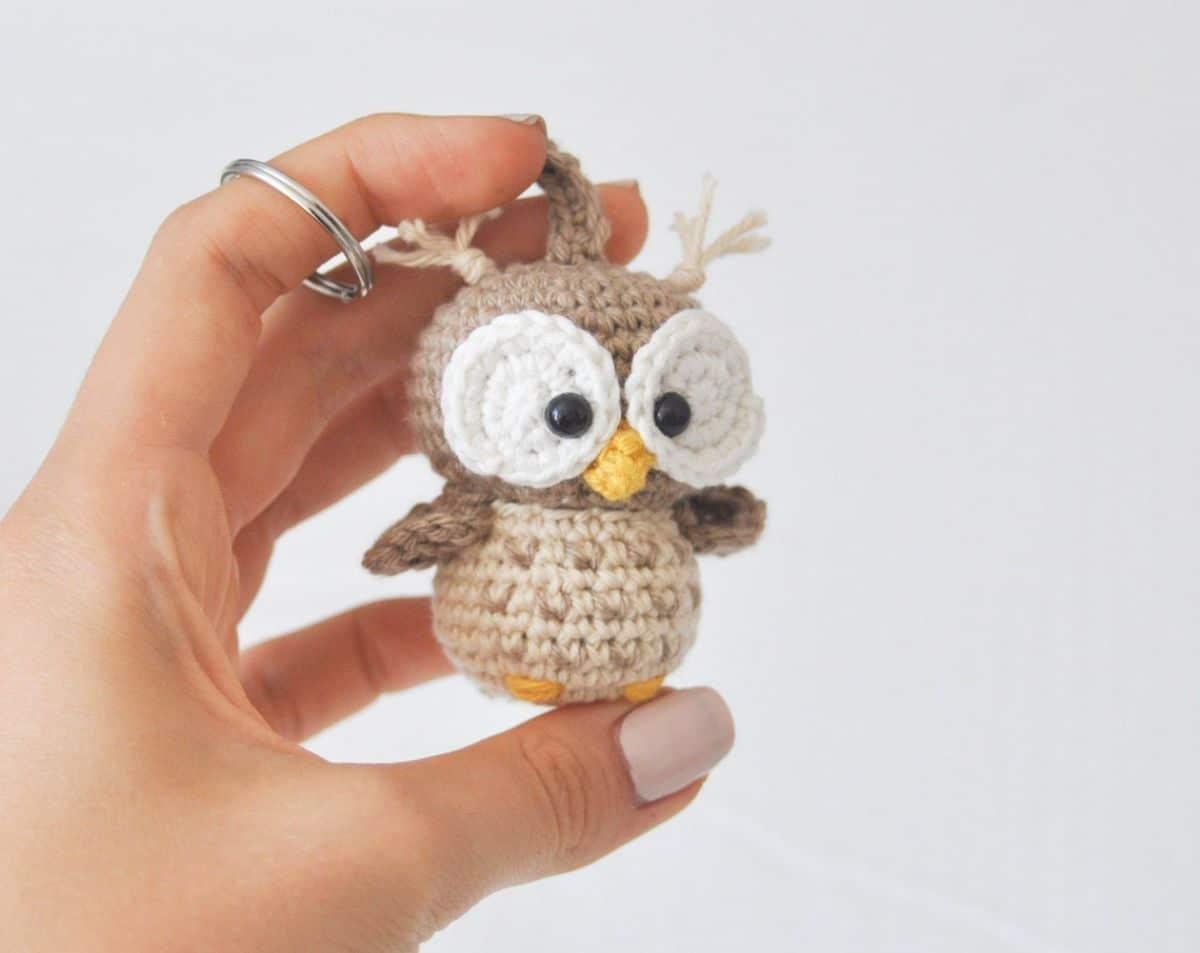 Keychain Owl - Crochet Pattern