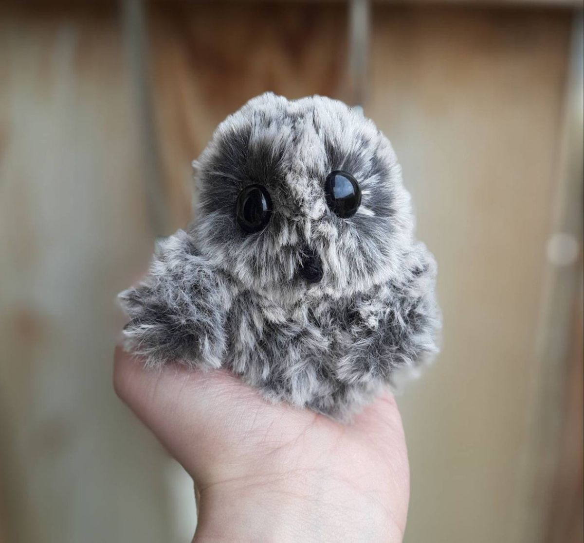 Plush Amigurumi Plush Owlet - Crochet Pattern